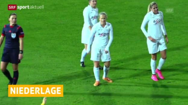 Video «Fussball: CL Frauen, Lilleström-FCZ» abspielen