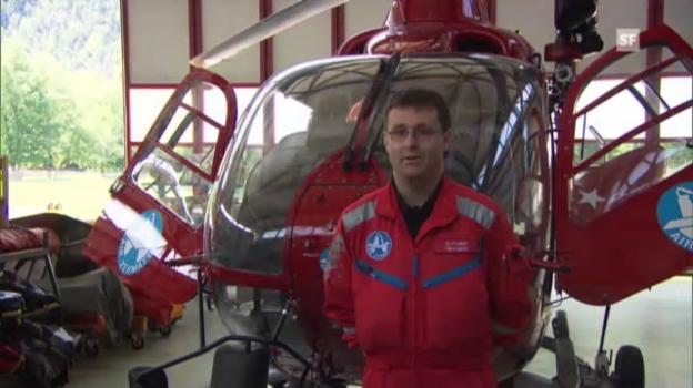 Video «So helfen Sie dem Rettungshelikopter» abspielen