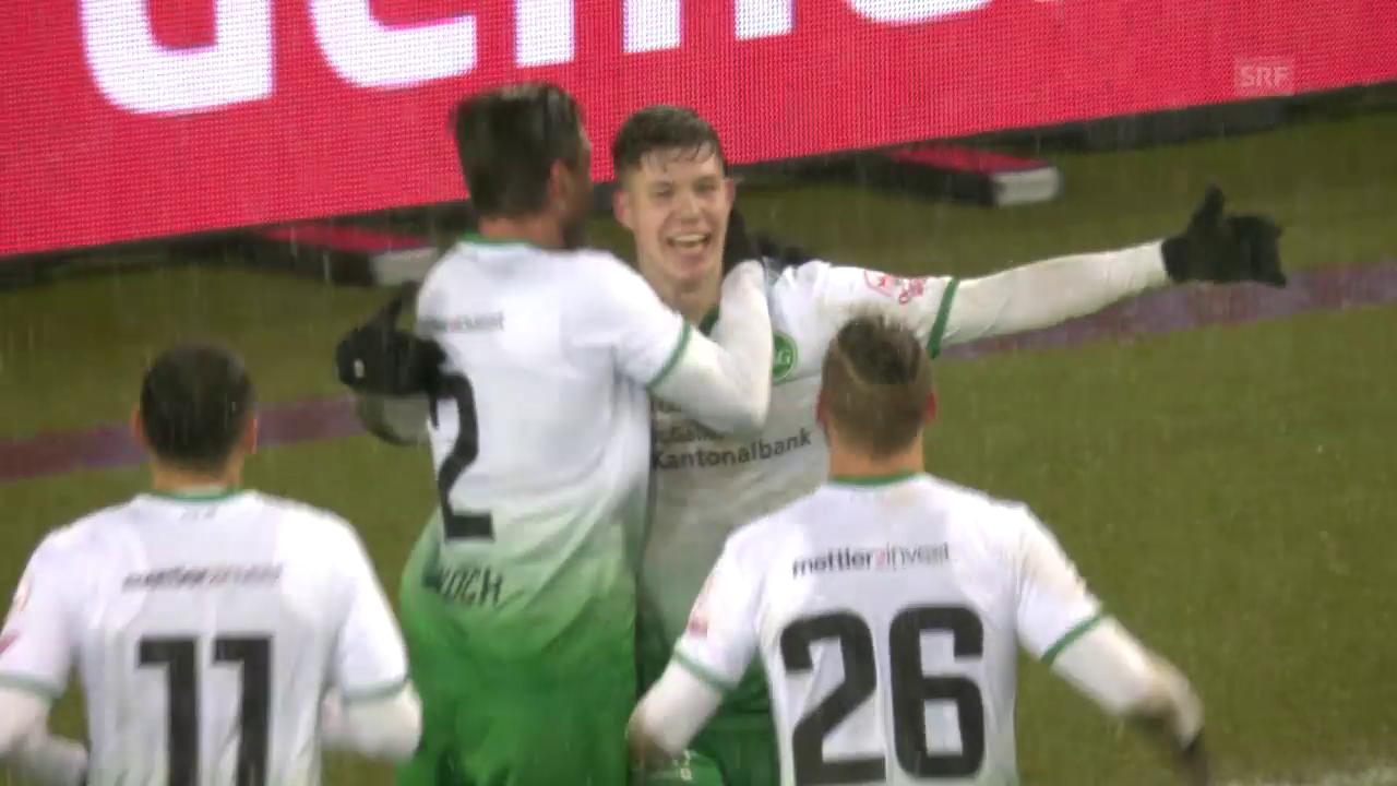 Itten schiesst St. Gallen in Basel zum Sieg