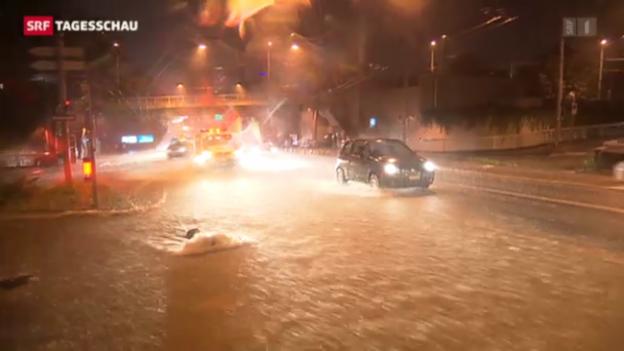 Video «Unwetter fordert ein Menschenleben» abspielen
