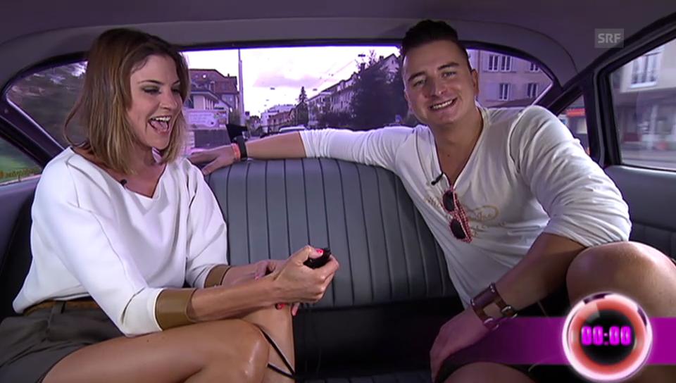 In der Limousine mit Andreas Gabalier