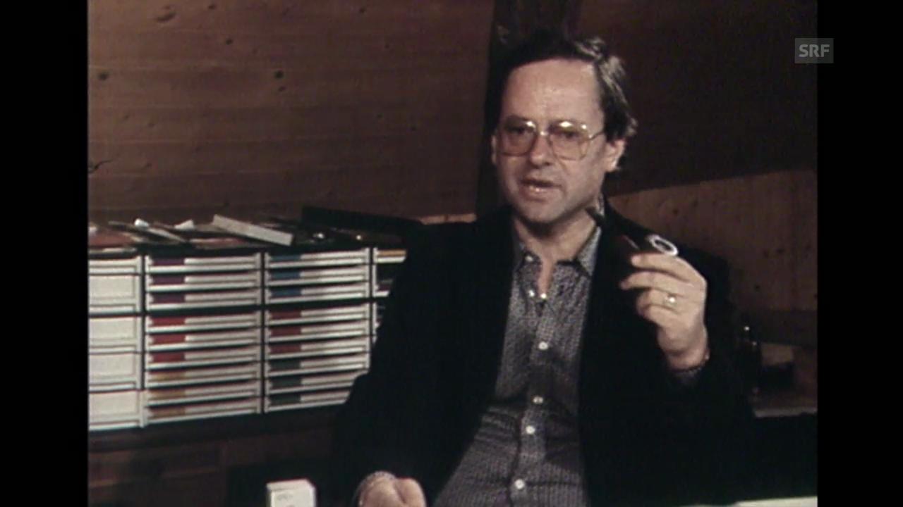 Hermann Burger und sein letztes Buch: «Brenner»