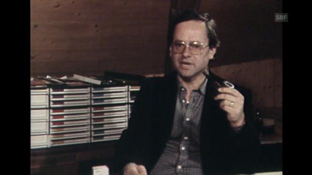 Video «Hermann Burger und sein letztes Buch: «Brenner»» abspielen
