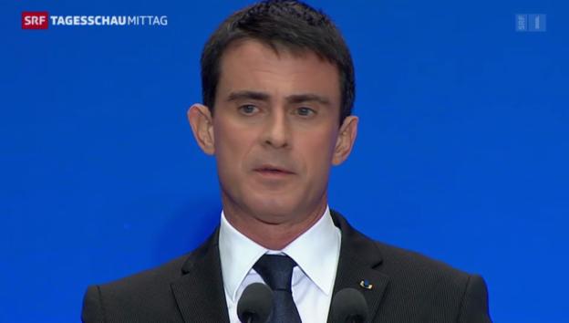 Video «Umstrittenes Reformpaket in Frankreich» abspielen