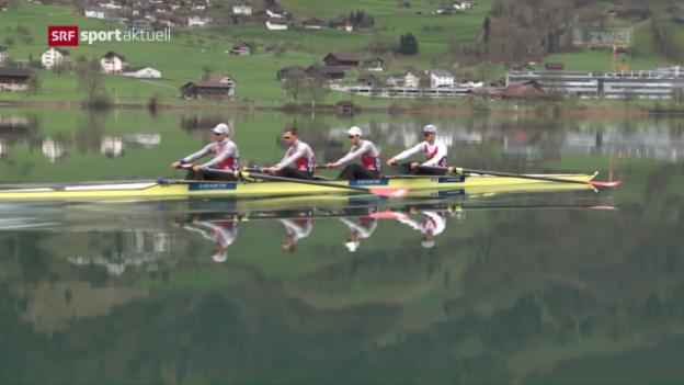 Video «Rudern: Noch 119 Tage bis zu den Olympischen Spielen» abspielen