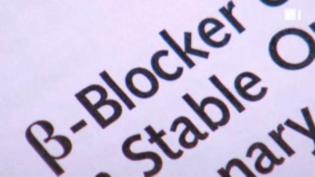 Video «Werden Betablocker zu häufig verschrieben?» abspielen