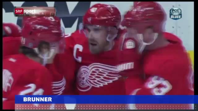 Eishockey: Detroit - St. Louis («sportaktuell»)