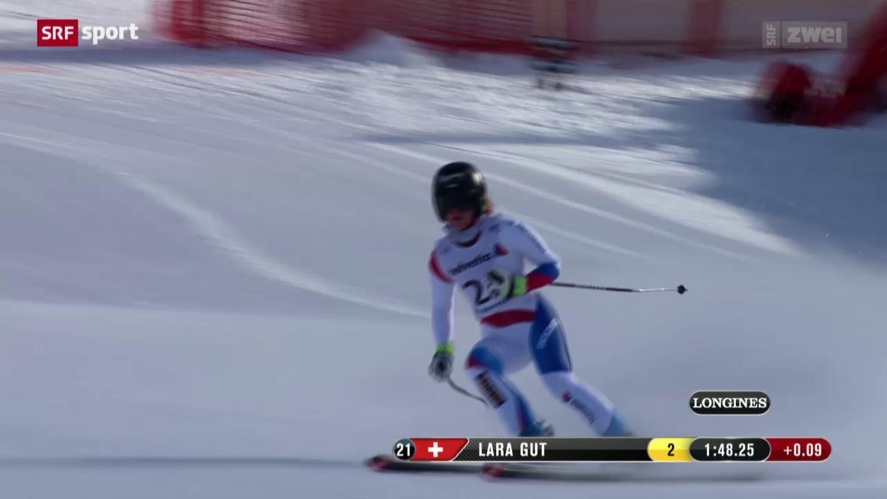 Ski: WM-Abfahrt Frauen, 1. Training