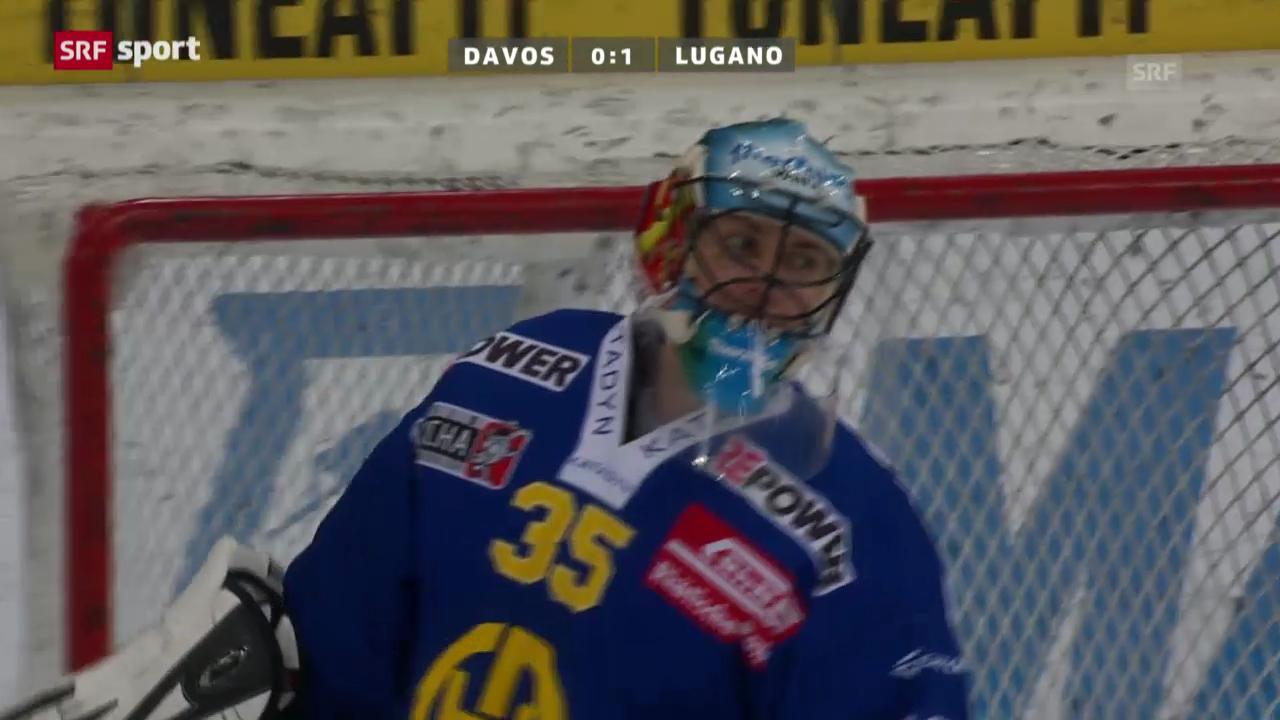 Eishockey: Davos - Lugano