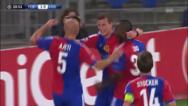 Highlights Basel - Ludogorets Rasgrad («sportlive»)