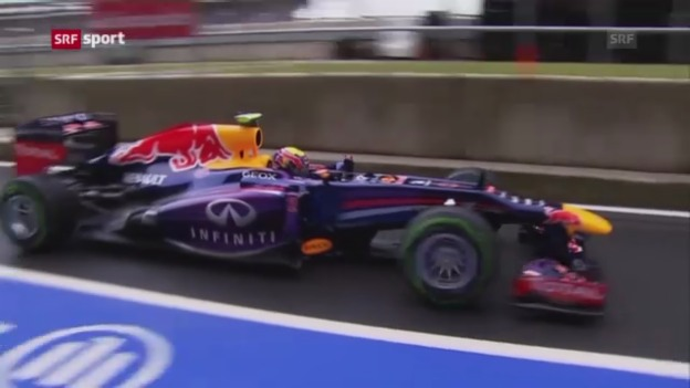 Video «Bericht zum Training und zur Webber-Ankündigung («sportaktuell»)» abspielen