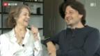 Video «Sohn filmt Charlotte Rampling» abspielen