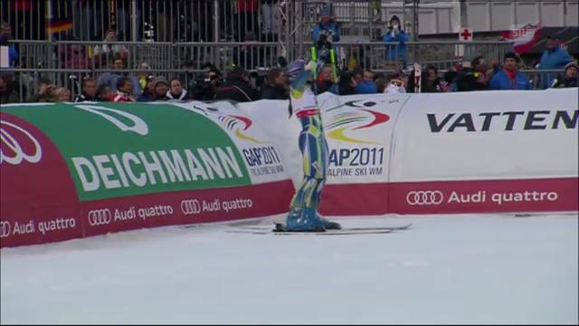 WM-Riesenslalom Frauen 2011: Tina Maze