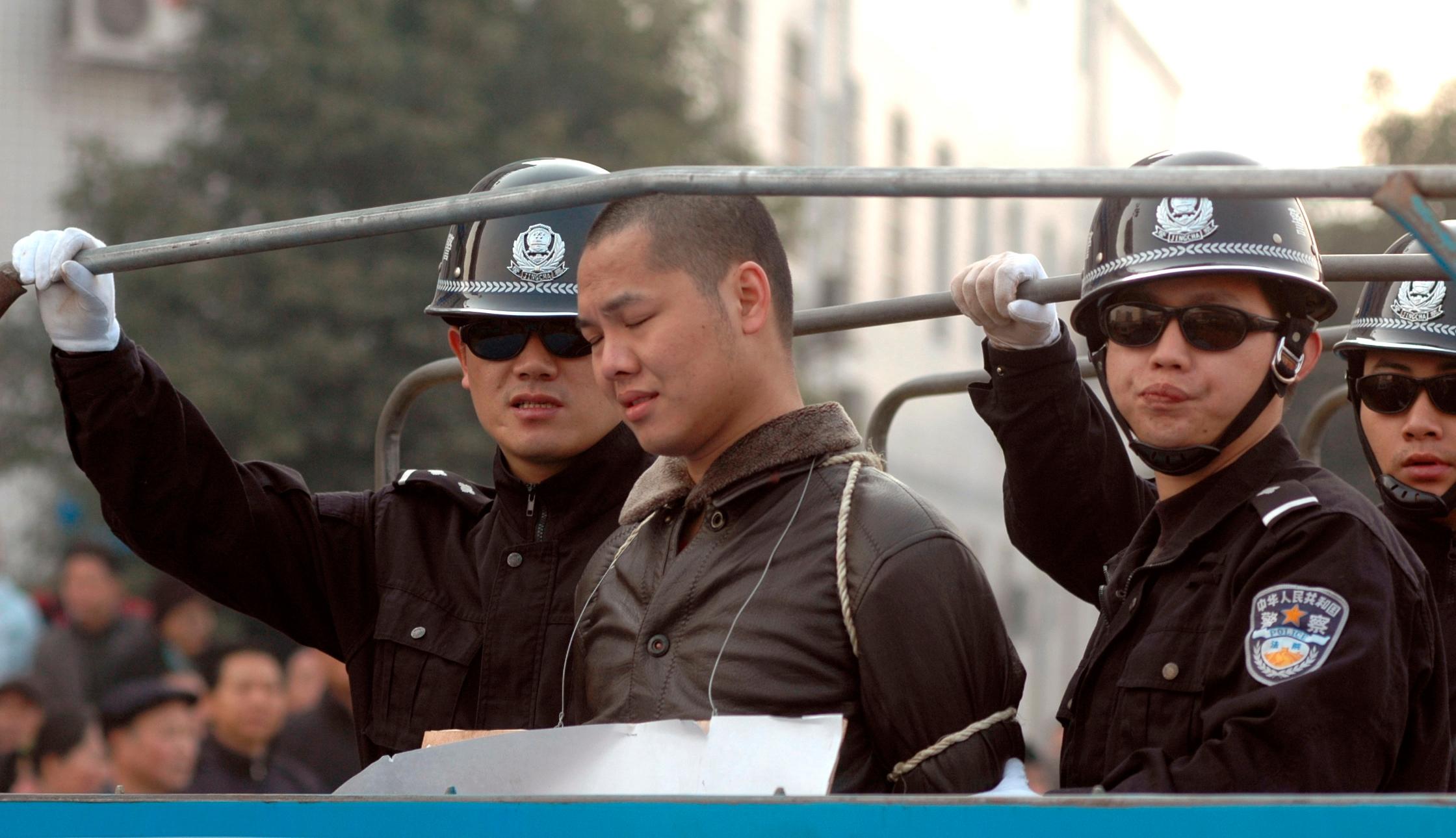 So versteckt China seine Hinrichtungen