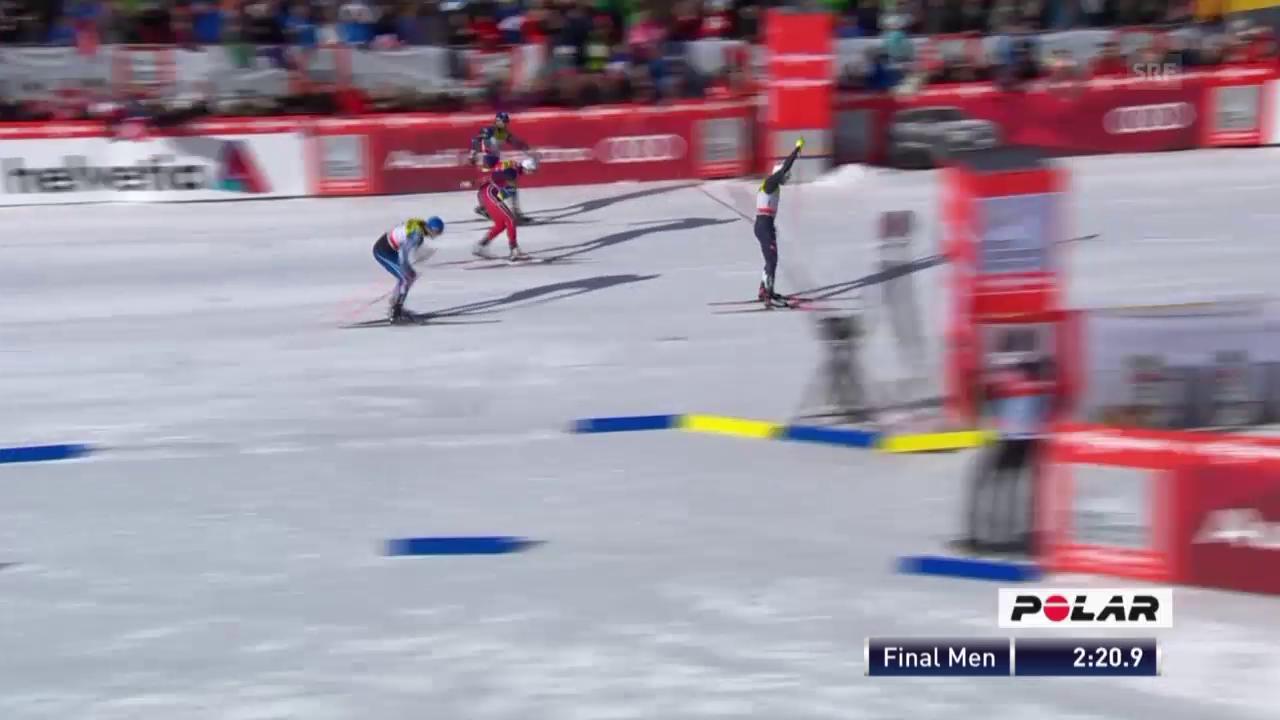 Langlauf: Weltcup, Sprint Davos, Final