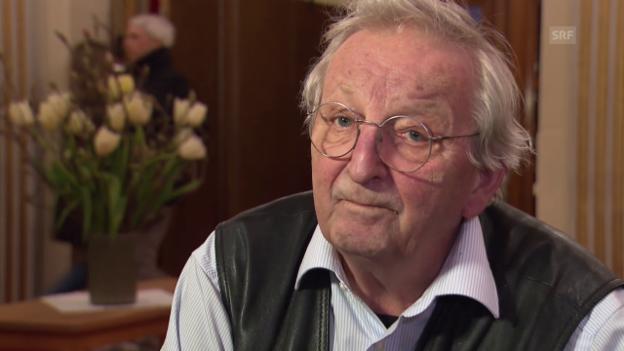 Video «Peter Bichsel, was halten Sie vom Begriff Ruhestand?» abspielen