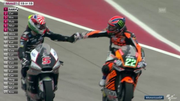 Video «Motorrad: GP Amerika, Moto2» abspielen