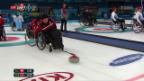 Video «Rollstuhl-Curler kassieren zwei Niederlagen» abspielen