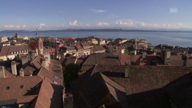 Video «Nur noch ein Wahlkreis im Kanton Neuenburg» abspielen
