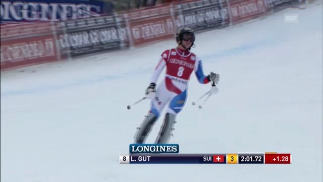 Ski: Superkombination Méribel, Slalom von Lara Gut