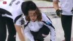 Video «Curling: Erfolgreiche Schweizer an der Curling-EM» abspielen