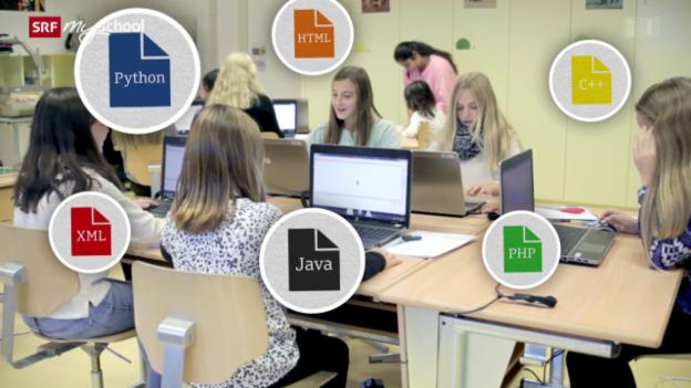 Video «Code ist cool! – Kinder lernen programmieren» abspielen