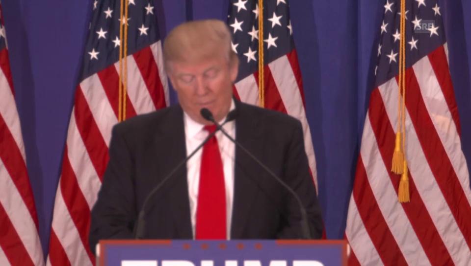 Trump bei der Wahlveranstaltung in Florida (Englisch)