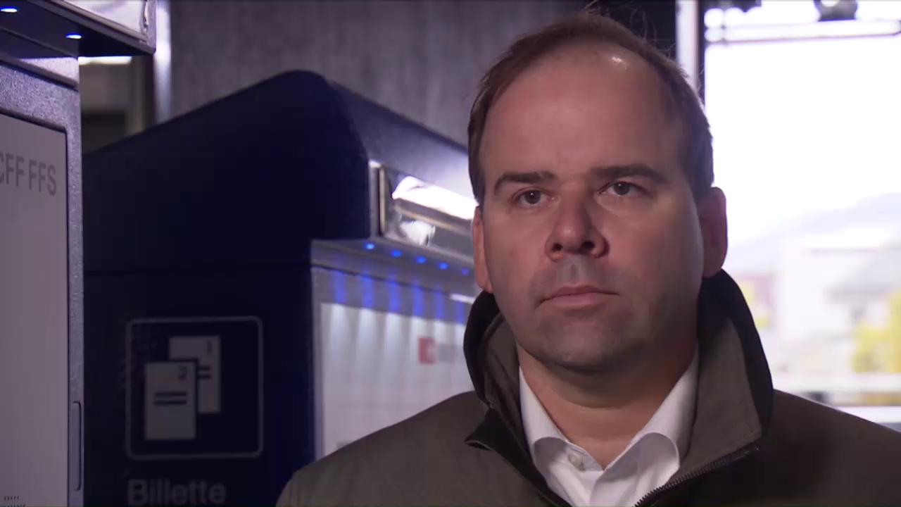 Abnahme von Skimming bei SBB-Automaten