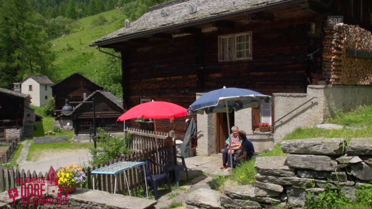 Wird Bosco Gurin das schönste Dorf der Schweiz 2015?