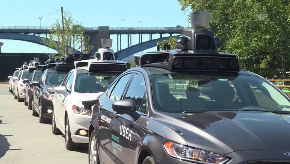 Uber probt die Zukunft – mit selbstfahrenden Taxis