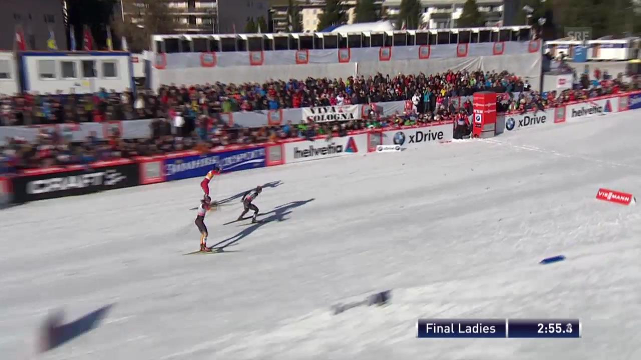 Final-Heat der Frauen («sportlive», 15.12.2013)