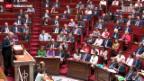 Video «Syrien-Debatte in französischer Nationalversammlung» abspielen