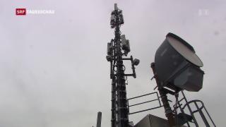 Video «Bund eröffnet Rennen um 5G-Frequenzen» abspielen