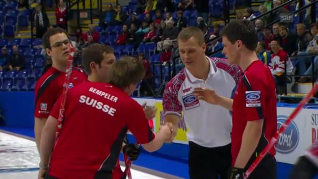 Video «Curling: Schweiz - Russland («sportaktuell»)» abspielen