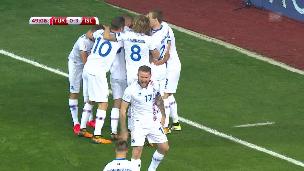 Island lässt Türkeis WM-Träume platzen