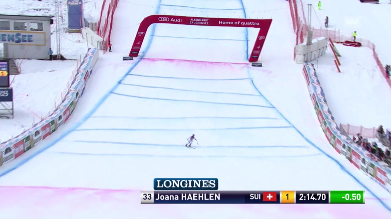 Joana Hählen gelingt ein ansprechender 2. Lauf