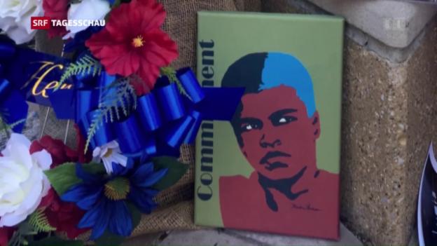 Video «Beerdigung von Muhammad Ali» abspielen
