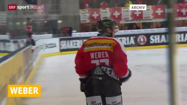 Video «Eishockey: Kein NHL-Team für Yannick Weber («sportaktuell»)» abspielen