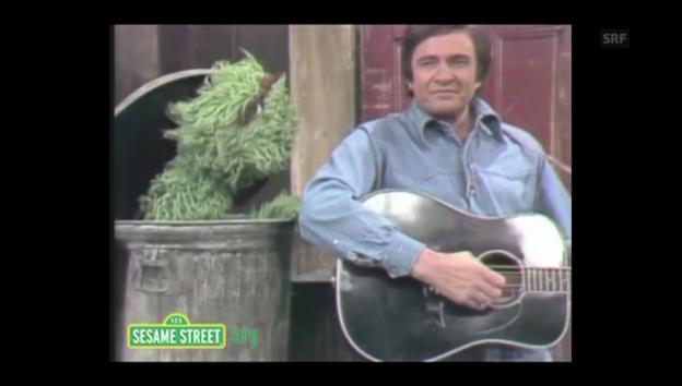 Video «Johnny Cash singt mit Oskar aus der Tonne» abspielen