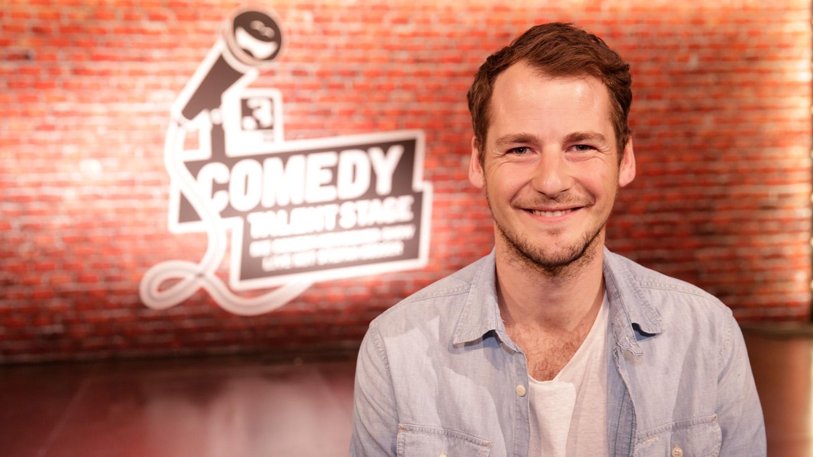 Philipp Wiederkehr auf der SRF 3 «Comedy Talent Stage»
