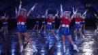 Video ««Rangerettes»: 41 Texanerinnen mischen «Basel Tattoo» auf» abspielen