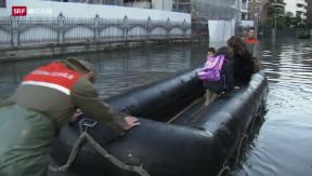 Video «Reportage aus dem überschwemmten Tessin» abspielen