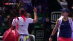 Video «Hingis/Mirza scheitern im Halbfinal» abspielen