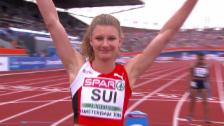 Video «4x100-m-Final mit Schweizer Sprintstaffel» abspielen