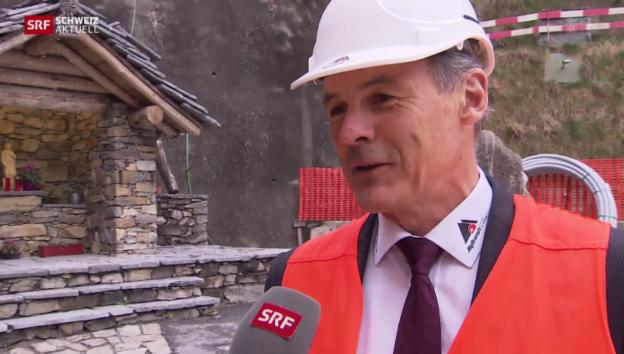 Video «Alptransit-Chef Renzo Simoni über den Ceneri-Durchbruch» abspielen