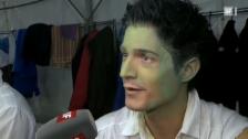Video ««Einstein»-Moderator Tobias Müller turnt im Zirkus» abspielen