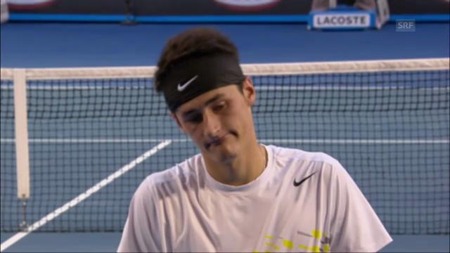 Federer - Tomic: Die bisherigen 3 Direktduelle