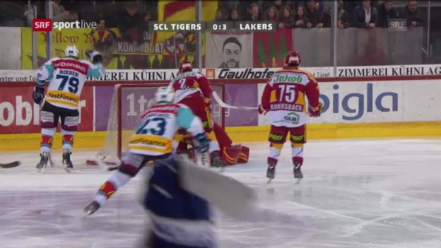 Video «SCL Tigers - Rapperswil-Jona Lakers» abspielen