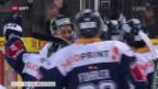 Video «Zug gewinnt attraktive Partie gegen Kloten im Penaltyschiessen» abspielen