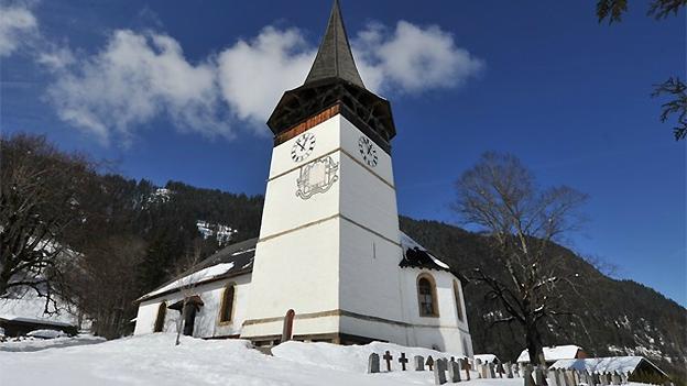 Glockengeläut der reformierten Kirche in St. Stephan